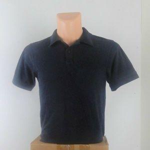 Boys Short Sleeve Polo School Shirt Navy Blue